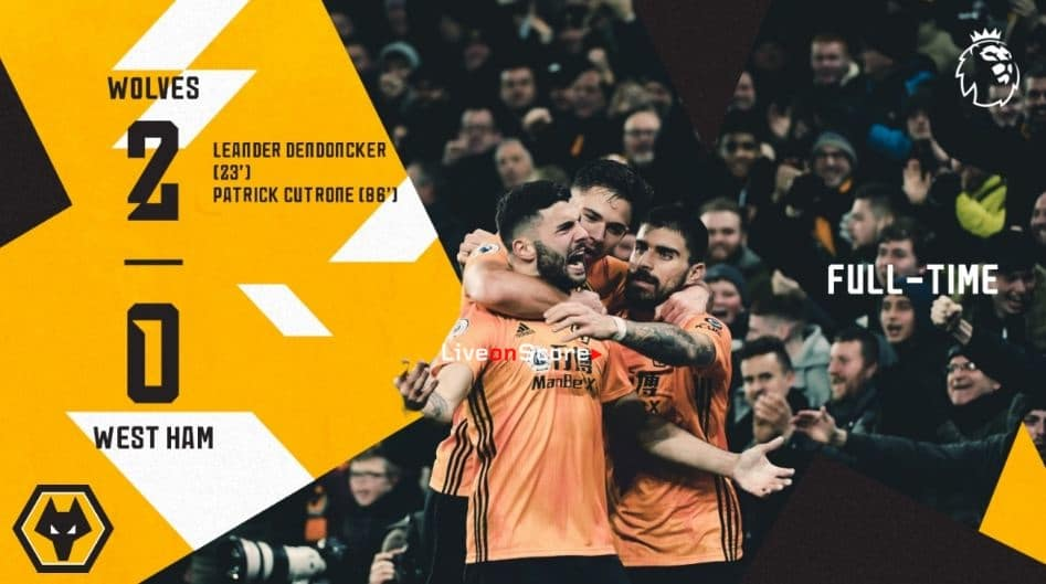 Wolves 2-0 West Ham Full Highlight Video – Premier League