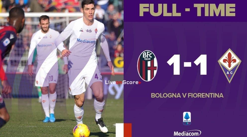 Bologna 1-1 Fiorentina Full Highlight Video – Serie Tim A