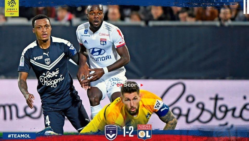Bordeaux 1-2 Lyon Full Highlight Video – France Ligue 1