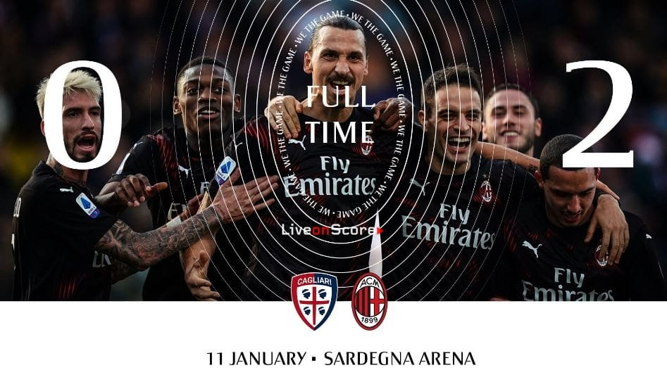 Cagliari 0-2 AC Milan Full Highlight Video – Serie Tim A