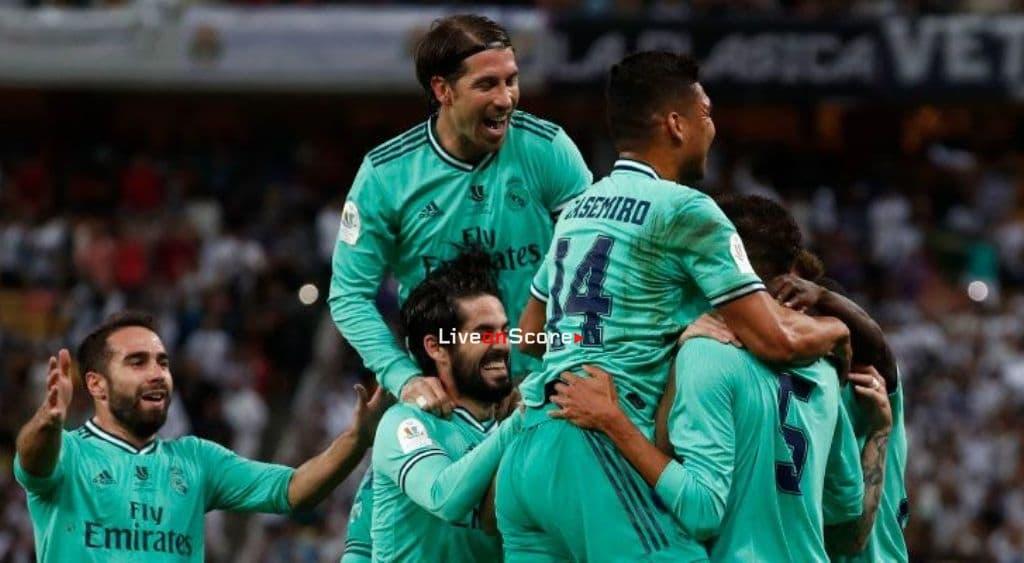 Real Madrid's 16 goal scorers this season