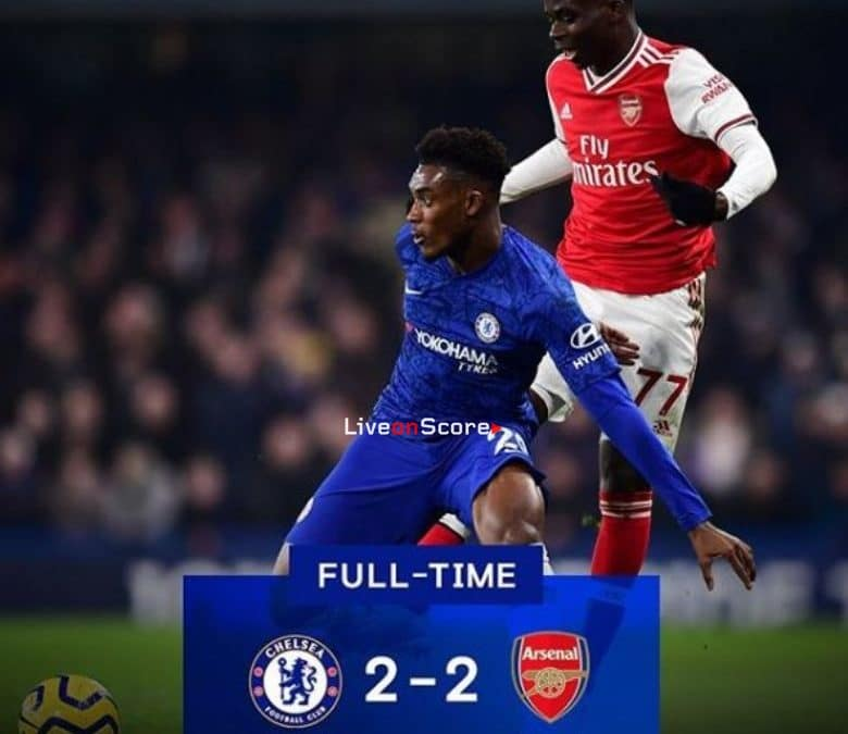 Chelsea 2-2 Arsenal Full Highlight Video – Premier League