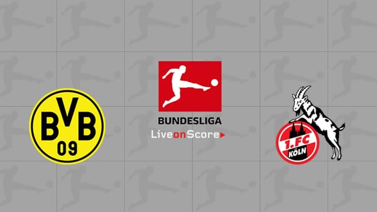 Previa y predicción Dortmund vs FC Koln Transmision en vivo Bundesliga 2020