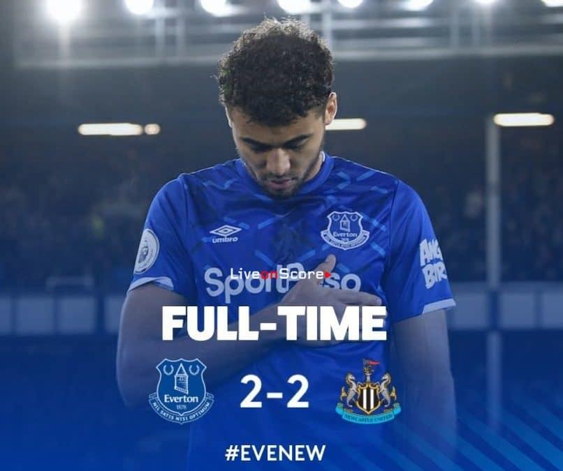 Everton 2-2 Newcastle video destacado - Premier League