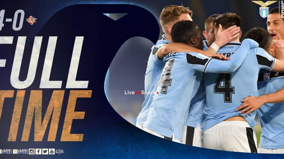 Lazio 4-0 Cremonese Full Highlight Video – Coppa Italia