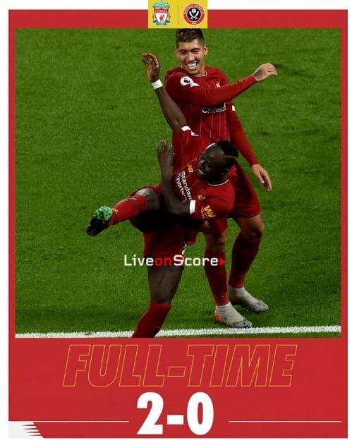 Liverpool 2-0 Sheffield Utd Full Highlight Video – Premier League