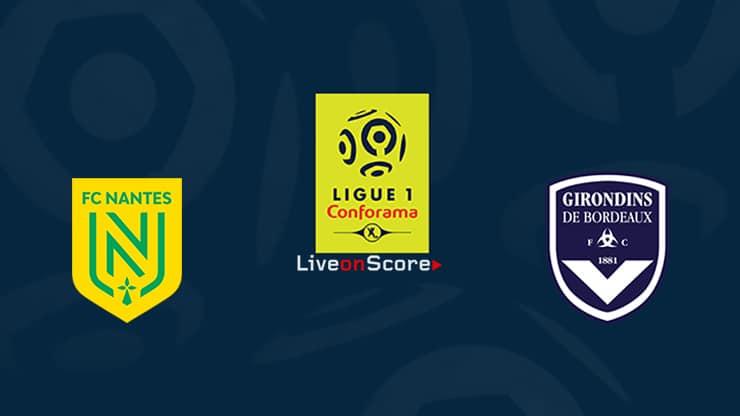 Nantes vs Bordeaux Preview and Prediction Live stream Ligue 1  2020