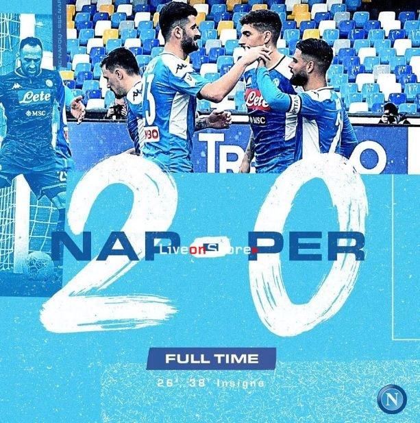 Napoli 2-0 Perugia Full Highlight Video – Coppa Italia