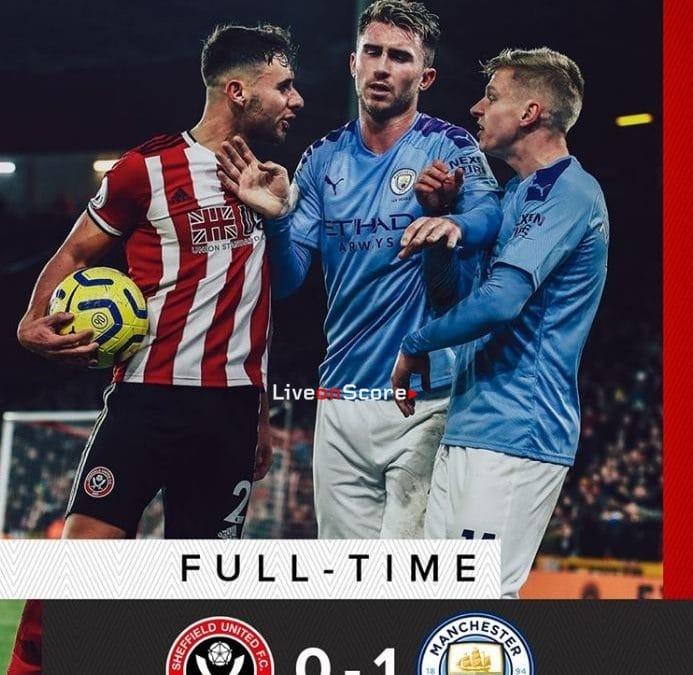 Sheffield Utd 0-1 Manchester City Full Highlight Video – Premier League