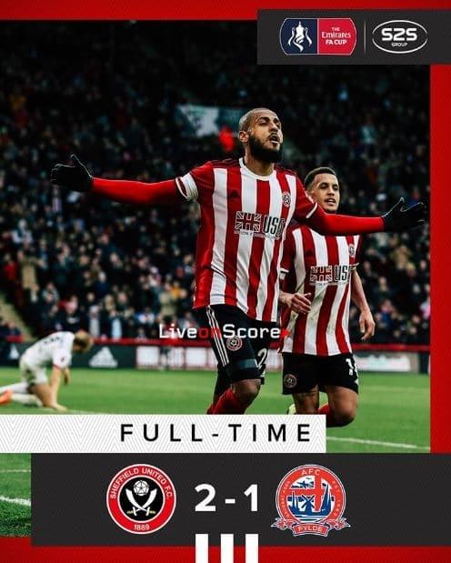 Sheffield Utd 2-1 AFC Fylde Full Highlight Video – FA Cup
