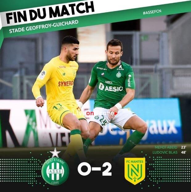 St Etienne 0-2 Nantes Full Highlight Video – France Ligue 1