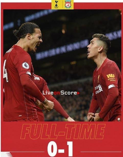 Tottenham 0-1 Liverpool Full Highlight Video – Premier League