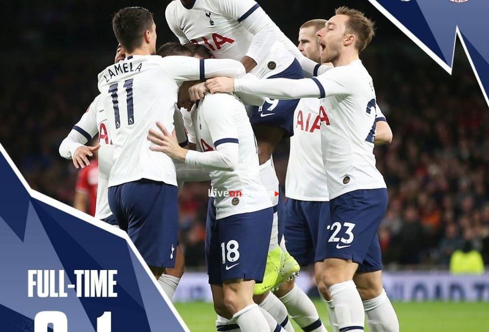 Tottenham 2-1 Middlesbrough Full Highlight Video – FA Cup