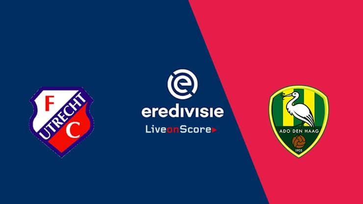 Utrecht vs Den Haag Previa, Predicciones y Pronostico Transmision en vivo - Eredivisie 2020