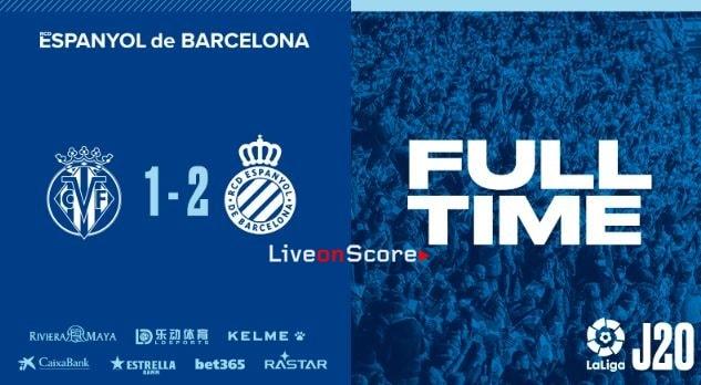 Villarreal 1-2 RCD Espanyol Full Highlight Video – LaLiga Santander