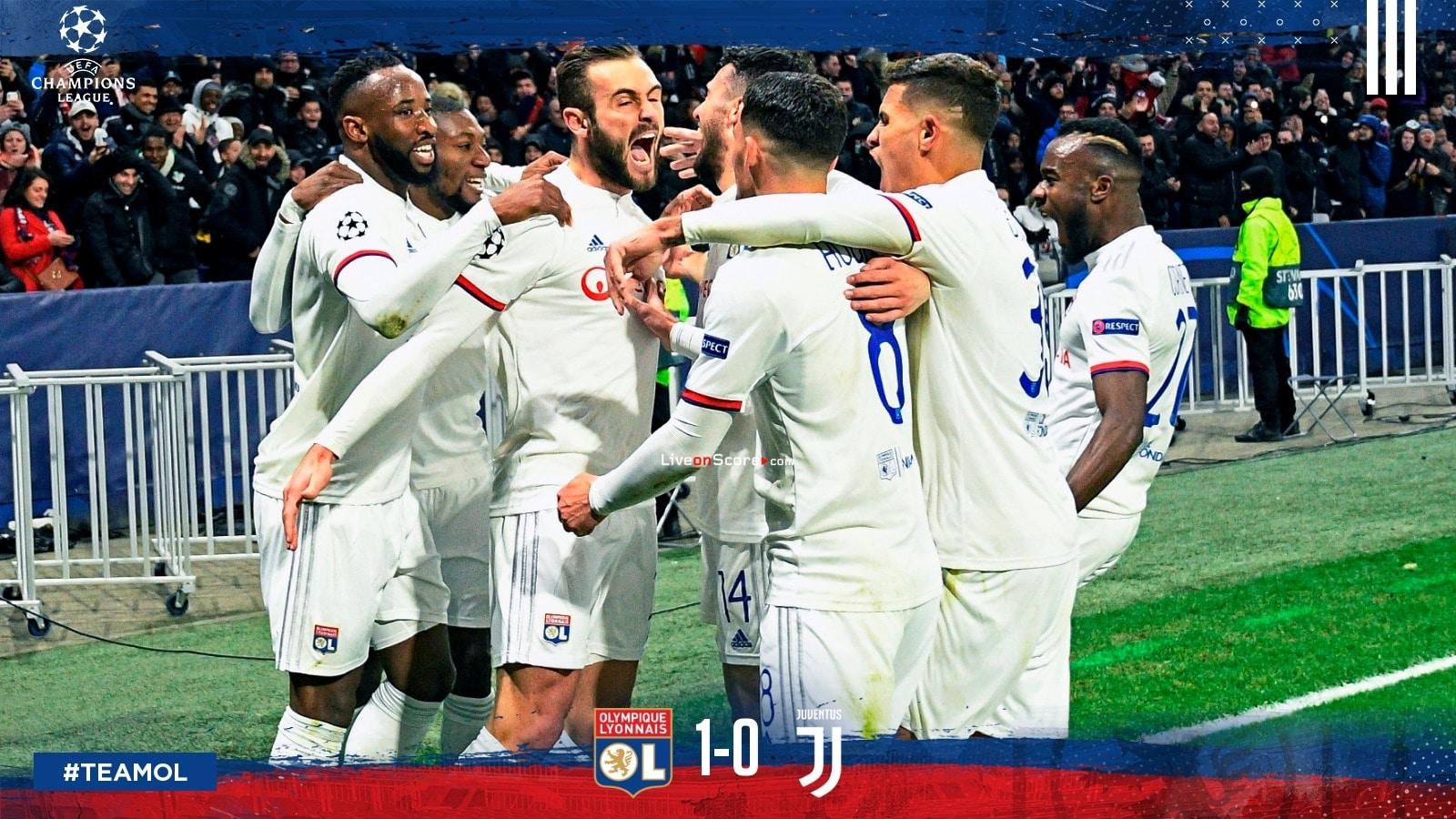リヨン1 0ユベントスウエファチャンピオンズリーグ1 8最終ftスコア