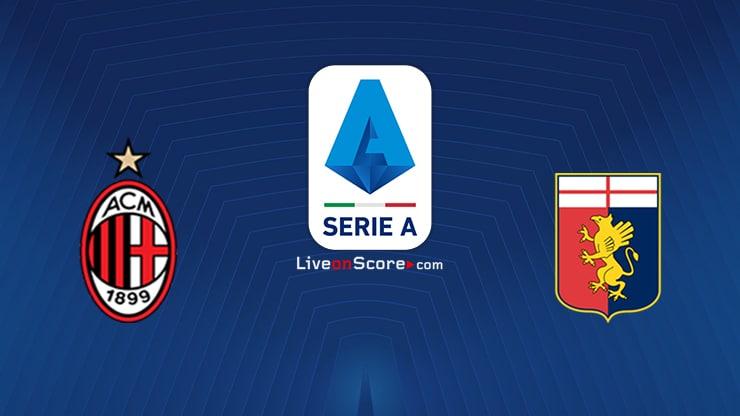 AC Milan vs Genoa Preview and Prediction Live stream Serie Tim A 2020