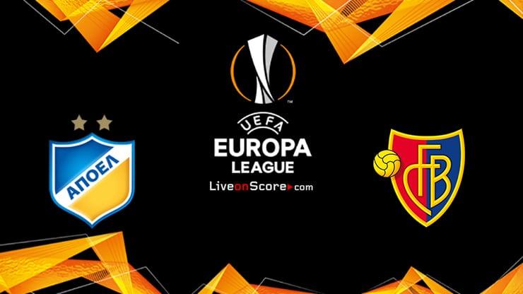 APOEL vs Basel Preview and Prediction Live stream UEFA Europa League 1/16 Finals  2020