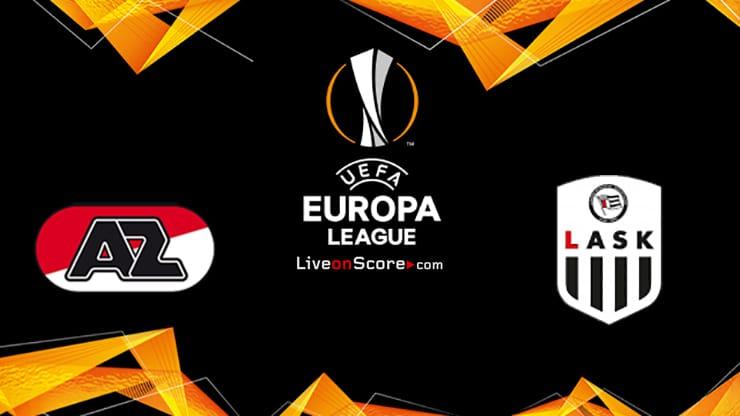 AZ Alkmaar vs LASK Preview and Prediction Live stream UEFA Europa League 1/16 Finals  2020