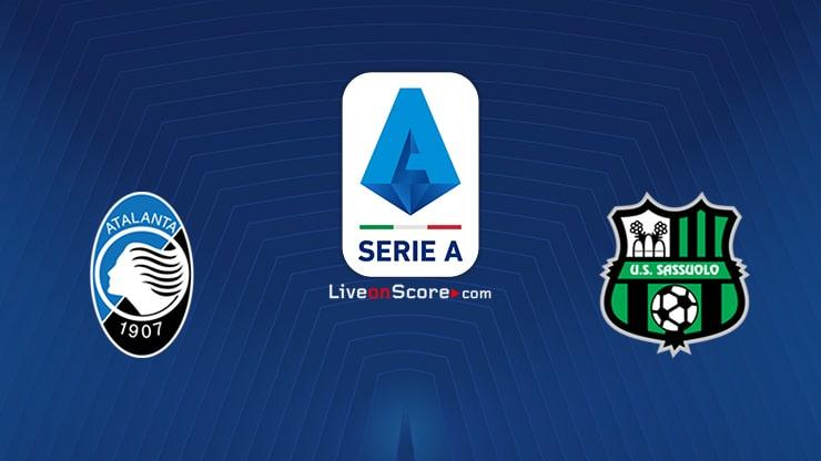 Atalanta vs Sassuolo Preview and Prediction Live stream Serie Tim A 2020