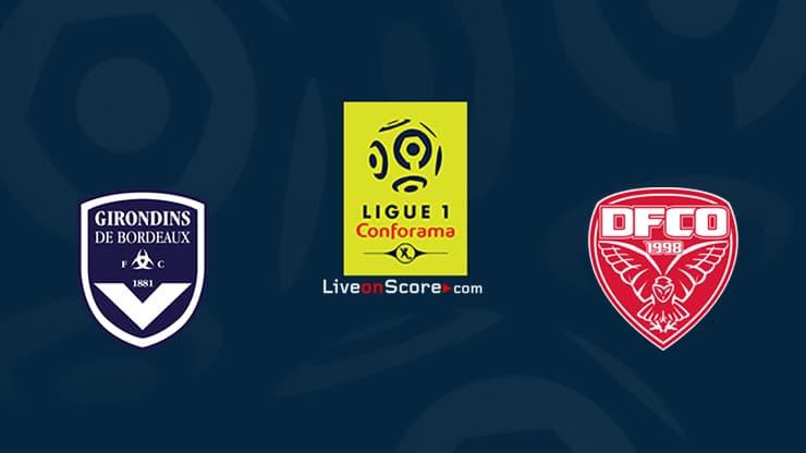 Bordeaux vs Dijon Preview and Prediction Live stream Ligue 1 2020
