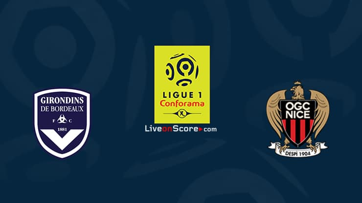 Bordeaux vs Nice Prediccion y Pronostico Transmision en vivo Ligue 1 2020