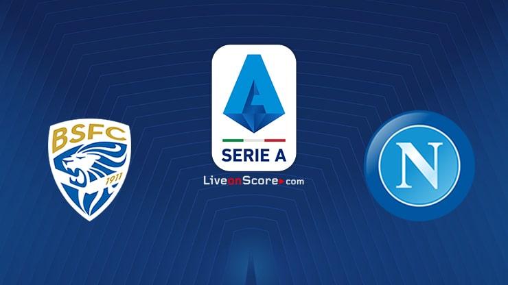Brescia vs Napoli Prediccion y Pronostico Transmision en vivo Serie Tim A 2020