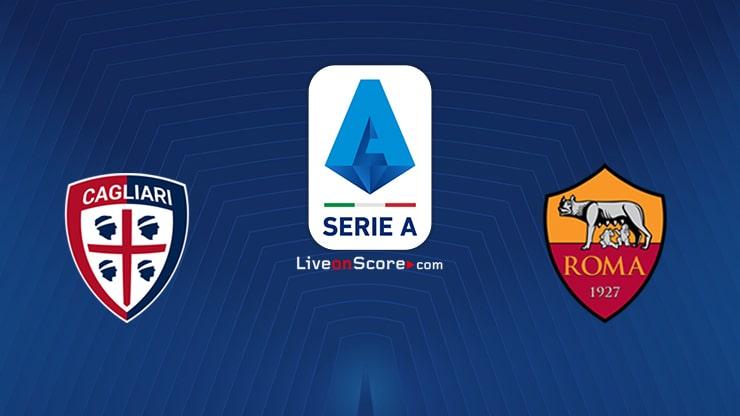 Cagliari vs AS Roma Preview and Prediction Live stream Serie Tim A 2020