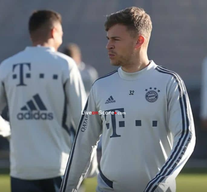 Kimmich misses training