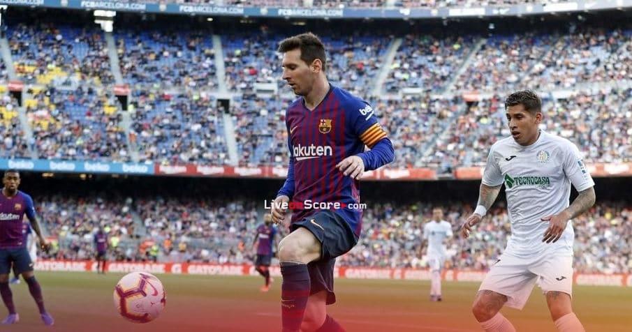Barca lowdown on Getafe match