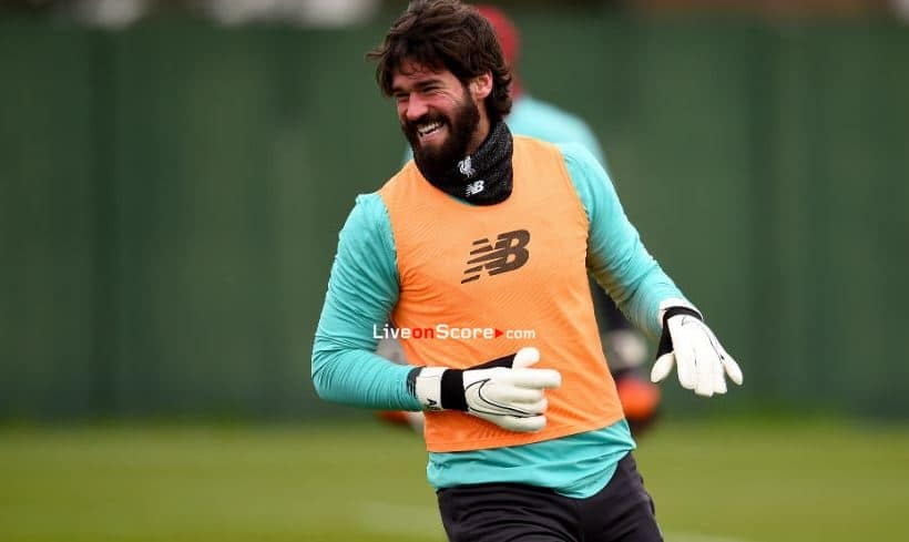 Alisson Becker on Liverpool's form: 'We're enjoying this time a lot'
