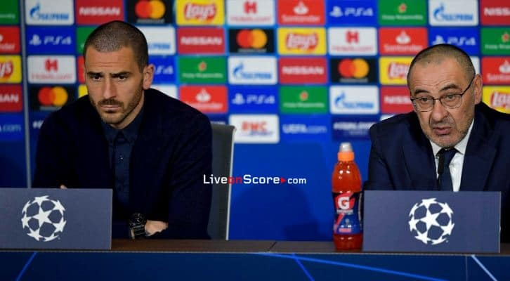 Sarri and Bonucci talk about UCL clash