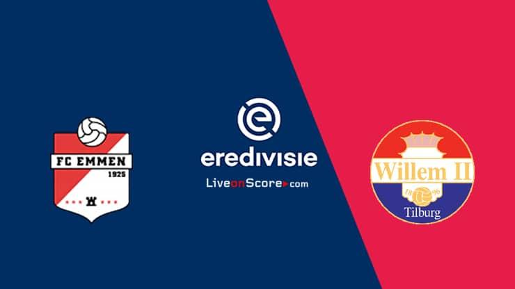 FC Emmen vs Willem II Predicción y transmisión en vivo - Eredivisie 2020