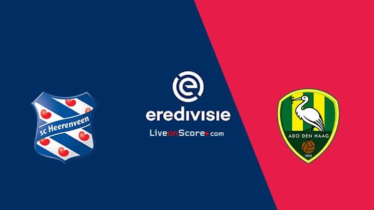 Heerenveen vs Den Haag Preview and Prediction Live stream – Eredivisie 2020