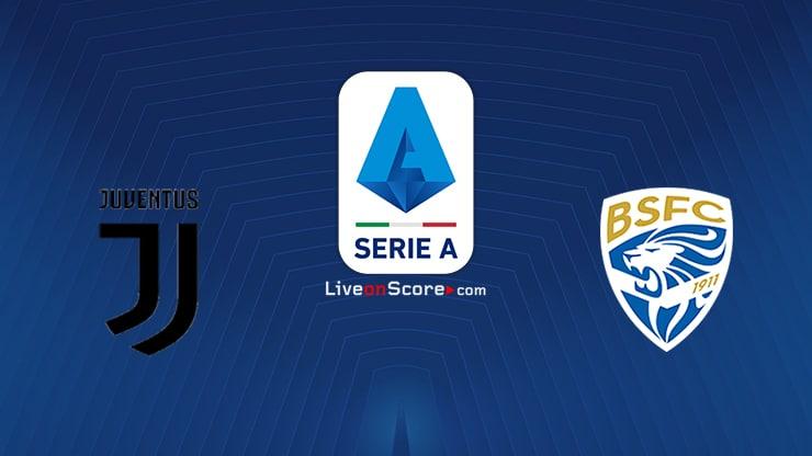 Juventus vs Brescia Preview and Prediction Live stream Serie Tim A 2020