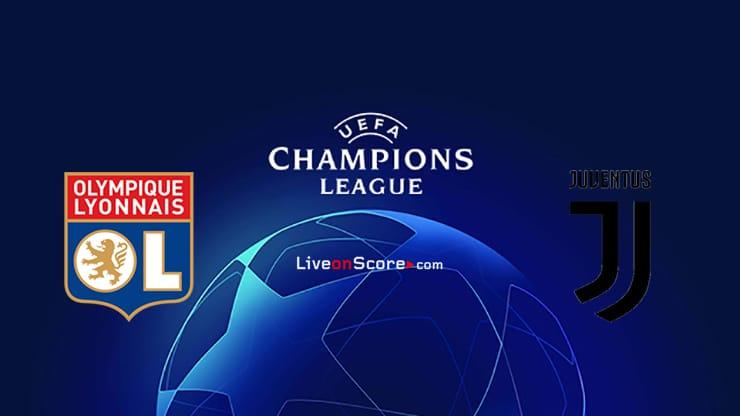Lyon vs Juventus Preview and Prediction Live stream UEFA Champions League 1/8 Finals  2020