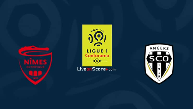 Nimes vs Angers Preview and Prediction Live stream Ligue 1 2020