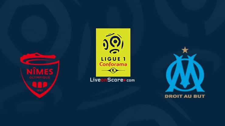 Nimes vs Marsella Prediccion y Pronostico Transmision en vivo Ligue 1 2020