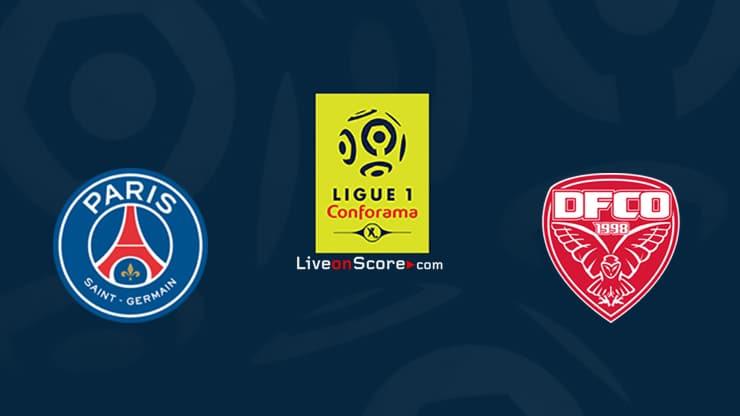 Paris SG vs Dijon Preview and Prediction Live stream Ligue 1 2020