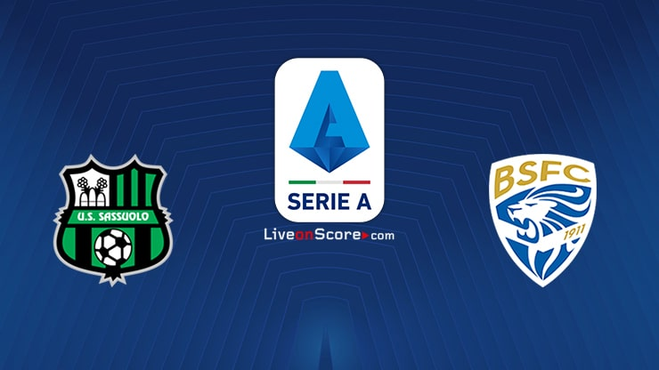 Sassuolo vs Brescia Preview and Prediction Live stream Serie Tim A 2020