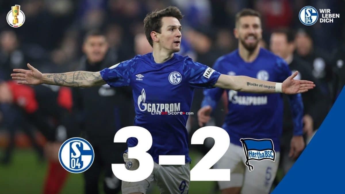 Schalke Hertha Dfb Pokal