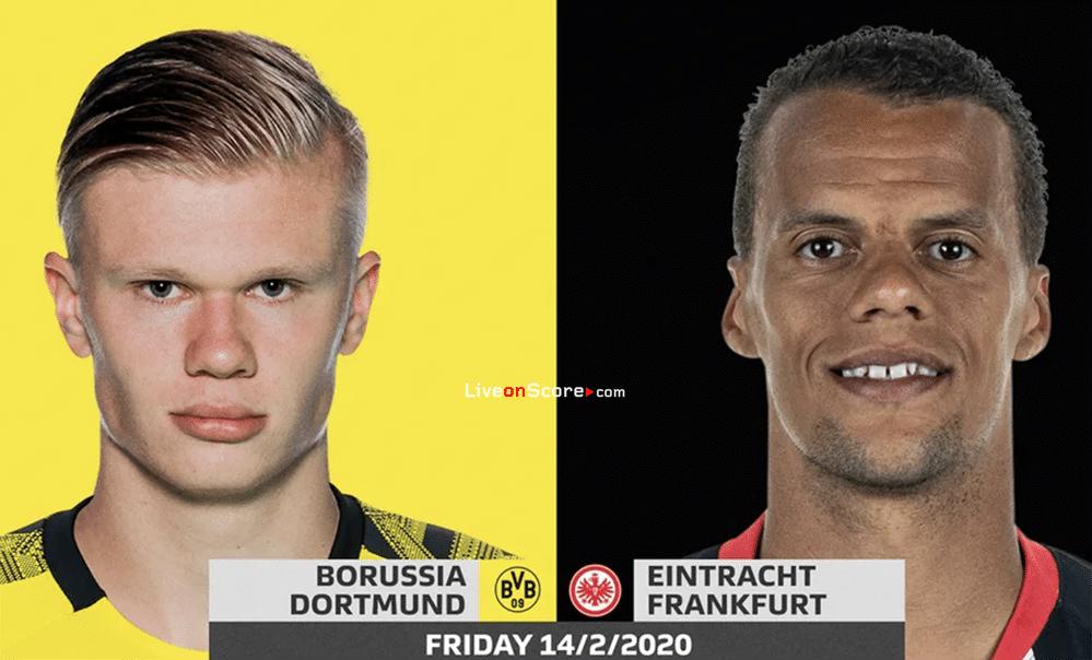Match Day – Dortmund vs Frankfurt: probable line-ups and match stats!