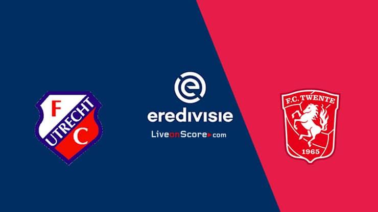 Utrecht vs Twente Predicción y transmisión en vivo - Eredivisie 2020