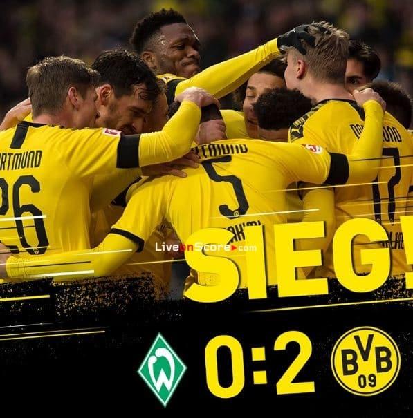 Bremen Gegen Dortmund 2021