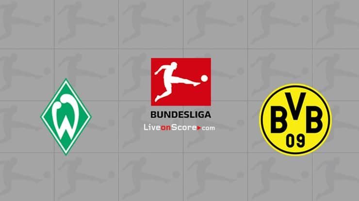 Werder Bremen vs Dortmund Preview and Prediction Live stream Bundesliga 2020