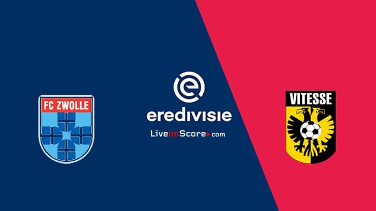 Zwolle vs Vitesse Preview and Prediction Live stream – Eredivisie 2020