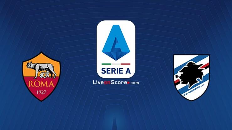 AS Roma vs Sampdoria Preview and Prediction Live stream Serie Tim A 2020