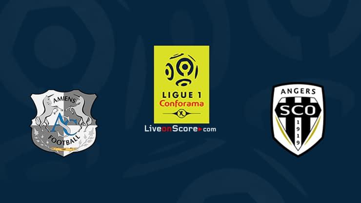 Amiens vs Angers Previa, Predicciones y Pronostico Transmision en vivo Ligue 1 2020