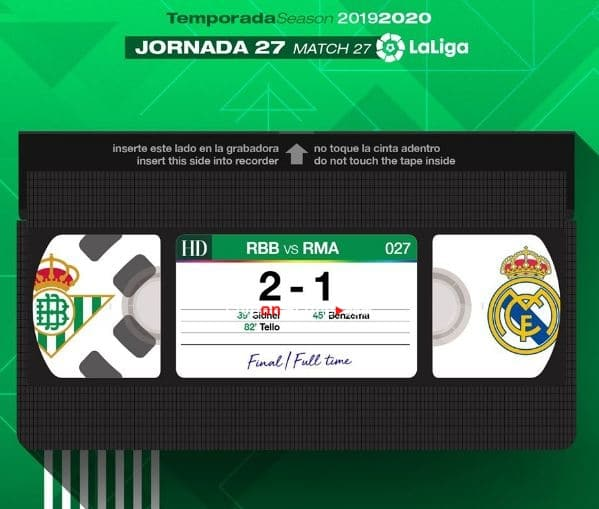 Betis 2-1 Real Madrid Full Highlight Video – LaLiga Santander