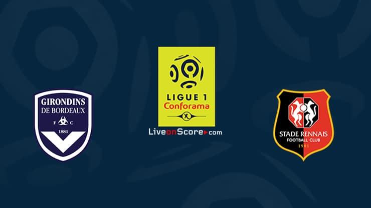 Bordeaux vs Rennes Preview and Prediction Live stream Ligue 1 2020